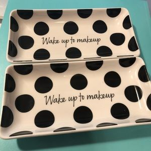 Two Sephora VIB Makeup plate/holder